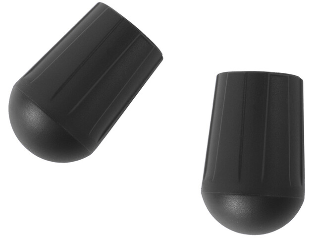 Helinox Chair Rubber Foot Set for XL Chair 2 Pieces, black